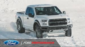 Ford Raptor With Tracks - ken block unleashes the 2017 ford f 150 raptor on winter f 150