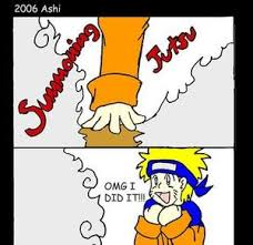 naruto summoning jutsu fail by samo3 meme center