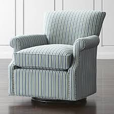 Swivel Rocking Chairs For Living Room Living Room Chairs Accent And Swivel Crate And Barrel