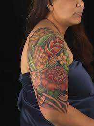 7 besten hawaiian tattoos bilder auf pinterest arm tattoos für