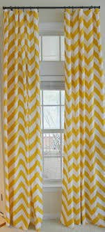 Chevron Style Curtains Best Yellow Or White Curtain Design For Door Decoration Come With