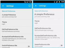 android preferences github androiddeveloperlb materialpreferencelibrary allows to