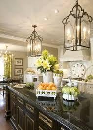 kitchen island lighting rustic