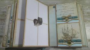 nautical photo album 4 nautical vectoria designs dt mini album