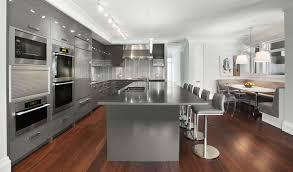 huge kitchen islands fancy stainless steel vessel sink smooth gray