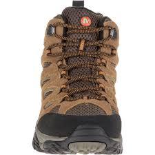 merrell men u0027s moab mid wp hiking boots earth