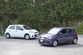 nissan micra crash test bargain basement battle chevrolet spark vs nissan micra the