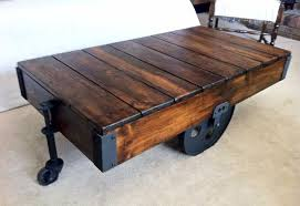 Diy Woodworking Coffee Table by 5 Creative Diy Wood Coffee Table Ideas Wondrous Inspration Diy