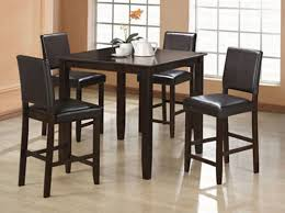 Counter Height Dining Room Chairs Wylie Counter Height Dining Room Set With Black Chairs Counter