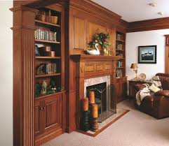 Bookshelves Cherry by Traditional Cherry Fireplace Mantel And Bookshelves Traditional