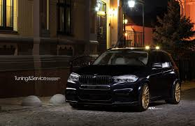 custom bmw x5 bmw x5 m50d xdrive gets gold flavored shoes adv 1 wheels