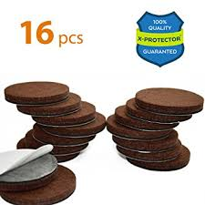 x protector premium 16 1 4 heavy duty felt furniture pads 2