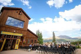 breckenridge wedding venues wedding at ten mile station