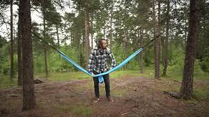 la siesta colibri single travel hammock made of parachute silk