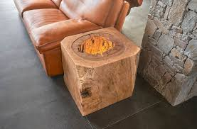 Wood Slab End Table by Live Edge Design Inc Live Edge Slab Wood Tables And Furniture