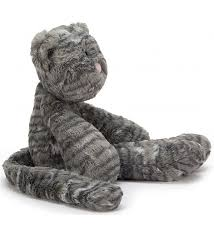 jellycat cat merryday cat grey medium jellycat toys