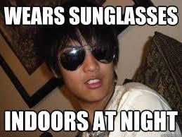Sunglass Meme - sunglass meme visionary athletes