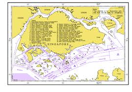 Map Of Singapore Anchorages