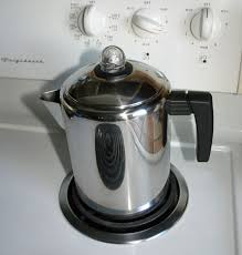 stove top coffee with a stove top percolator