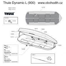 Audi Q5 Thule Dynamic 900 - náhradní díly thule dynamic l 900 obchod thule cz