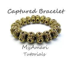 beads bracelet tutorials images 93 best beaded bangles images tutorials beaded jpg