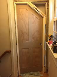 diy how to build an angled door one room challenge week 5