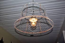 Unique Light Fixtures by Reclaimed Rustics Chicken Wire Light Fixture