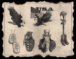american eagle u s army retired scar cover tattoo design in 2017