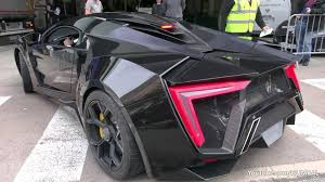 lykan hypersport price 3 4 million lykan hypersport by w motors driving on the road in