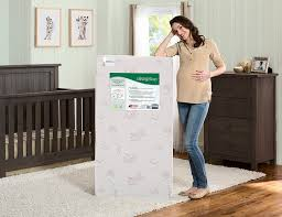 Serta Perfect Dream Crib And Toddler Bed Mattress by Amazon Com Simmons Kids Beautysleep Woodland Dreams With Air