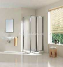 clear glass folding door for shower room dy dc692 dabbl china