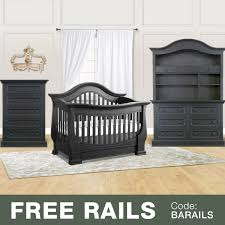 Baby Convertible Crib Sets by Baby Appleseed 4 Piece Nursery Set Davenport 3 In 1 Convertible