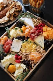 thanksgiving look at this amazing rustic cheese and fruit tray