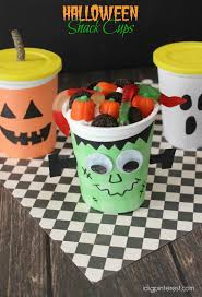 halloween snack cups i dig pinterest