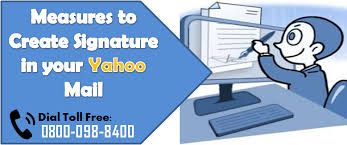 yahoo mail help desk measures to create signature in your yahoo mail tech support and tech