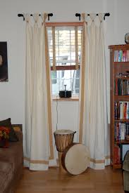 dining room drapes ideas casual window treatments sheer voile
