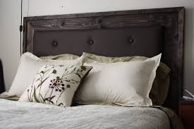 how to make an upholstered headboard including easy reality more like home simple upholstered collection also how to make an headboard images