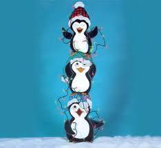 outdoor penguin decorations rainforest islands ferry