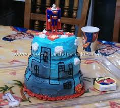 coolest superman cakes on the web u0027s largest homemade birthday cake