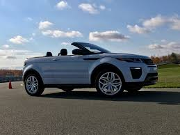 land rover small 2017 range rover evoque convertible test drive review autonation