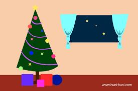 krismas christmas tree huni huni