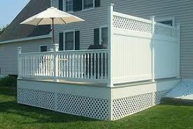 vinyl fences custom panels dover nh