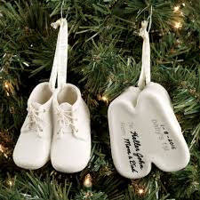 baby keepsake ornaments baby bootie keepsake ornament