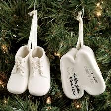 baby bootie ornament baby bootie keepsake ornament