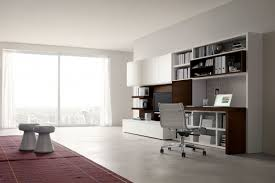 Built In Office Furniture Ideas 702 Modular Wall Unit With Built In Desk Napol Furniture Within