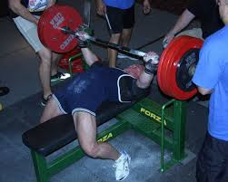 Biggest Bench Press In The World - another world record bench for camp hill officer mike bingham