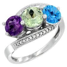 blue amethyst rings images Green amethyst jpg