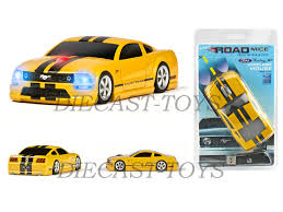 Yellow Mustang With Black Stripes New Arrival Ford Mustang Gt Wireless Mouse Yellow With Black