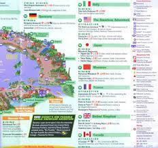 Epcot World Showcase Map Epcot Map Pdf Quotes Southtracks