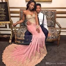 Black And Gold Lace Prom Dress Long Elegant Black Prom Dresses 2017 Mermaid Style Sweetheart